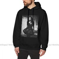 Evanescence Hoodie Amy Lee From s Autumn Cool Pullover Grey Cotton Male Long Length xxl Loose s