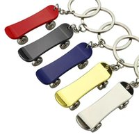 Keychains Skateboard Key Chain Ring Accessories Small Gift Car Pendant