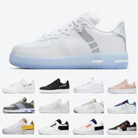 nike air force 1 one air forces shoes Dünya Günü 2019 Mavi renk tonları YENI Dunk 1 Rahat Ayakkabılar Tan Krem Mens Womens Yeşil Abyss Kaykay Low Cut spor Sneakers 36-45