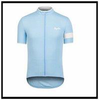 Rapha Equipo profesional ropa de manga corta jersey (babero) Montaña transpirable carreras deportes ciclo de bicicleta desgaste suave camisa amigable para la piel al aire libre verano 43003