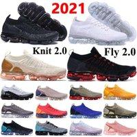 Новейшие вязаные 2 0 кроссовки находятся 1 0 Triple Black CNY мужские кроссовки подушки кроссовки женщин дышащий пробег Обувь размер 3645 Mikee