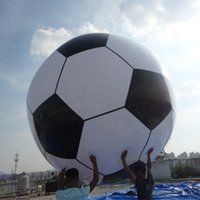 Big inflatable PVC soccer ground balloon Floating football basketball sports Rugby Baseball advertising Helium Ball for Events