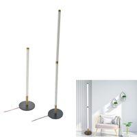 LED 코너 바닥 빛 변화하는 분위기 조명 거실 침실 파티 홈 장식을위한 현대 램프