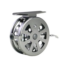 BLD60 carpa Carrete de pesca con hielo Frente Drag Spinning Reel Pre-Cargar Spinning Wheel Mosca Pescado 576 x2