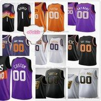 Özel Ekran Baskılı Basketbol Formaları Valley Black City 2021 Finaller 1 Devin 3 Chris Booker Paul Deandre Mikal Ayton Köprüleri Jersey E'twaun Moore Jae Crowder