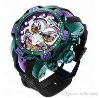 2021 Invicta Reserve Modell - 26790 DC Comics Joker Venom Limited Edition Schweizer Quarz Chronograp Silikon Gürtel Quarz Watch1
