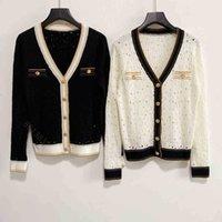 Feshion desinger women cc suéter marca marca chen hoodie chaqueta tejer cardigan botones desing ropa mujer casual jersey