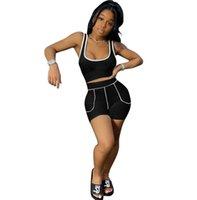 Women 2 Piece Ethika Set Designer Tracksuits Vest Shorts Summer Outfits Bikini Suits Sweatshirt Slim Breathable Fitness Swimsuit T0188