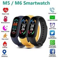 M6 Smart Watch M5 Smartwatch Sport Band Fitness Brazel Pedometer Herzfrequenz Blutdruckmessgerät Bluetooth Smartband Armband Männer Frauen