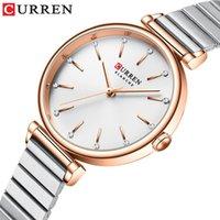 Relojes de acero inoxidable Super Slim Slim Slim Women Top Casual Relk Ladies Wrist Watch Relogio Feminino Relojes de pulsera