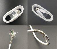 Perakende Paket Kutusu A + + + + Orijinal OEM 1 M Tipi C V8 Mikro USB Veri Sync Şarj Kablosu Ile Örgülü Samsung S7 S8 S9 Huawei P Telefon