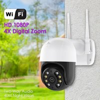 Cameras Outdoor 1080P Wireless WiFi IP Camera Pan Tilt Night Vision SurveillanceCamera Network 2MP Baby Monitor