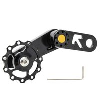 Tools Folding Bike Chain Tensioner Lightweight Bicycle Guide Wheel Single Speed Rear Derailleur With Sprocket