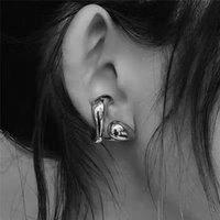 HIPHOP женская уха манжеты старинные металлические дерево клип серьги для женщин геометрические листья манжеты серьги готические украшения женские Bijoux 2020 113 R2