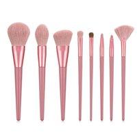 Makeup Brushes Large Brush Set Concealer Foundation Blush Powder Blend Cosmetic Eyeshadow Fan Highlighter