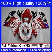 Injectie Verkortingen voor Ducati 848R 1098R 1198R 848 1098 1198 S R Carrosserie 14 No.0 848S 1098S 07 08 09 10 11 12 1198S 2007 2008 2009 2010 2011 2012 OEM BODY KIT FACTORY Red