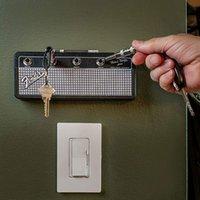Fender Blues Key Holder Jack Rack Storage Guitar Vintage Amplifier Home Decoration Gift