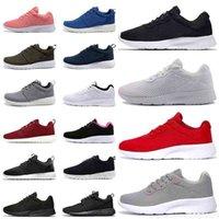 36-45 Orijinal Açık Tanjun 1.0 Kadın Erkek Koşu Ayakkabıları Londra 3.0 Üçlü Siyah Beyaz Gri Pembe Spor Eğitmenleri Sneakers Moda Klasik