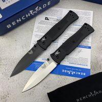 """Benchmade 530 BAILOUT Axis Coltello pieghevole 3.26 """"D2 Blade in acciaio inox di alta qualità, maniglie con Grivorio nero Campeggio all'aperto e strumenti EDC EDC"""