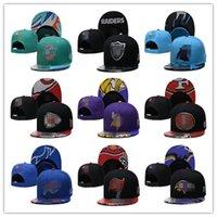 2021 Calcio Snapback Hats Draft Cap Tutti i 32 team Mescolare i cappucci dell'ordine della partita in magazzino cappello di alta qualità all'ingrosso