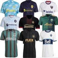 2021 DC United Los Angeles La Galaxy Futebol Jerseys Inter Miami CF Sporting Dynamo Kansas City Atlanta Seattle Sounders LAFC FC NYCFC