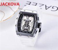 Mens Sports Watches Multifunction With Calendar Rubber Outdoor Casual Watch Men montre homme quartz movement Day Date Designer Waterproof Clock