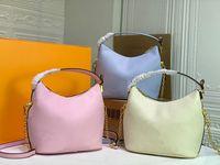 La nuova borsa in pelle di moda Handbag Lussurys Designer Borsa portafogli Borse diagonali a spalla di lusso Borse diagonali Marshmallow HOBOBAGS con il suo ornamentale S-Lock