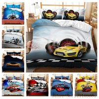Bedding Sets Motorcycle Roadster 3D Printed Set Quilt Cover Pillowcase Single Full Queen King Size Bedclothes 2 3Pcs