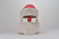 Puzzles DIY 3D Santa Craft Kit Instalación - No se requieren tijeras