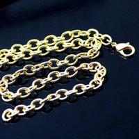 Retro Schmuck Exquisite 925 Silber Gold Mann Halskette Modern Dominieren für Frauen Charme Ketten