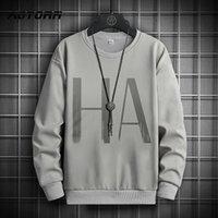 Men's Hoodies & Sweatshirts Autumn Sweatshirt Loose Hip Hop Pullover Streetwear Casual Fashion Oversized Hoodie Male Tracksuit Harajuku Tops