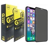 개인 정보 풀 커버 안티 스파이 강화 유리 화면 보호기 아이폰 13 12 11 Pro Max XS XR 8 7 6 Samsung S20 Fe S21 A12 A32 A22 A42 A52 A72 A01 A11 A21 A21S A31 A41 A51 A71
