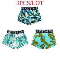 Shorts 2021 Born Summer Swim Baby Boys Girls Swimwear Toddler Infant Fashion Print Swimsuit Beach Short Pants 6-24M