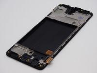 갤럭시 A51 A515 용 LCD 디스플레이 A515 OLED 스크린 패널 프레임이있는 디지타이저 어셈블리 교체