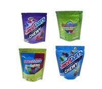 Пустые SweetArts Edibles Mylar Bags 500 мг WeedTarts Ropes Усадить сумку Пахнуть Доказательство Уплощенные съедобные акции упаковки