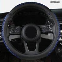 Leder-Auto-Lenkradabdeckung für Toyotas Crown S180 S210 Abdeckungen