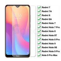 9H Vidro temperado para Xiaomi Redmi 8 8A 7 7A Protetor de tela Vidro Redmi Nota 9s 8 8T 7 9 Pro Max Safety Protective Film