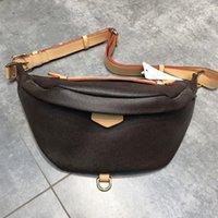 Luxurys men women Bumbag Crossbody Designers Shoulder Bag Waist Bags chest bag 43644 Fanny Pack woman Vintage leather handbags Purses