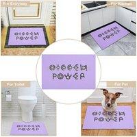 Carpets Unown Hidden Power Doormat Entrance Floor Mat Hallway Printed Non-slip Rugs Front Door Mats Outdoor Carpet 40*60cm 1Pc Car