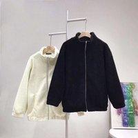 jackets Faux Women's Fur Designer Jacket coat monclair lulu christmas hoodie Lamb wool wind resistant lovely Corduroy Couple Parka for woman vest leather two piece