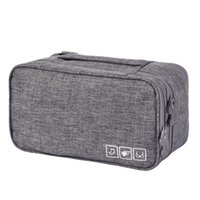 Duffel Bags Simple Large-Capacity Solid Color Portable Travel Storage Home Multi-Function Bra And Underwear Bag