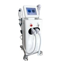 Professional 2 IN 1 808nm Diode Laser Hair Removal Machine Picosecond Laser Painless Tattoo Removal Skin Rejuvenation Skin whitening Beauty Equipment