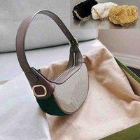 【code:OCTEU03】Borsa ascellare donna di lusso con hardware moda hardware di alta qualità borse a tracolla di alta qualità designer signora vintage borse borse
