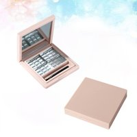 Eyebrow Tools & Stencils 2Pcs Empty Eyeshadow Dishes DIY Palettes Subpackaging Boxes For Girls Ladies)