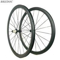 عجلات الدراجة Bikedoc 700C * 38MM الكربون الطريق powerway r39 hub دراجة