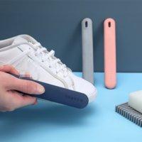 Творческая милая маленькая щетка для обуви, моющая мягкая щетка, чистая пластиковая дезактивация
