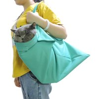 Cat Carriers,Crates & Houses Hands-Free Pet Dog Outdoor Travel Soft Carrier Slings Backpack Shoulder Bag For Chihuahua Small P7Ding