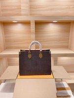 Concepteurs de luxe Grandes sacs fourre-tout Colore Couleur En Cuir Véritable 6 couleurs Coffe de haute qualité Super Grand Logo Sac shopping PU