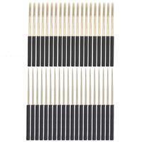 메이크업 Tatoo 기계 라운드 문신 바늘 독립 패키지 바늘 피어싱을위한 수동 블레이드