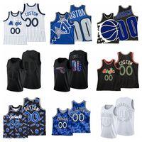 2021 Basketball-Trikots Tracy McGrady Jersey Penny Hardaway Chuma Okeke Jonathan Isaa Customized Genähte Größe S-XXXL Atmungsaktives schnell trockenes schwarzes schwarzes Mesh